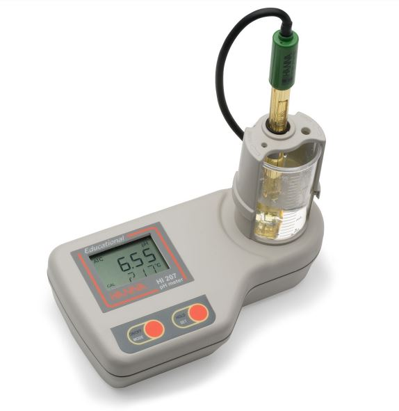 Bench Ph Meter For Educational Use Ha Hi207 At Mediray