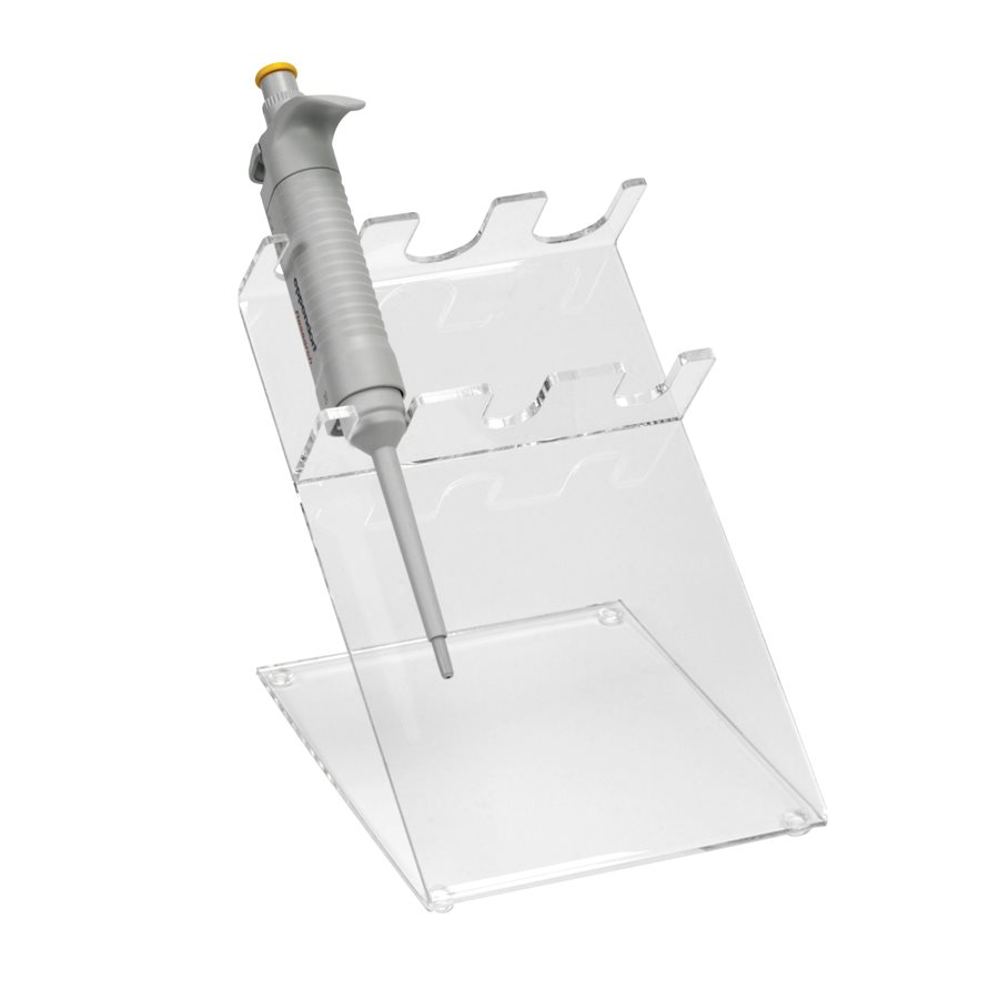 3 Place Clear Acrylic Pipettor Stand Hs206203 At Mediray